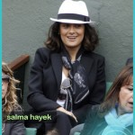 Salma Hayek: French Open
