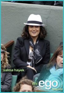Salma Hayek: French Open