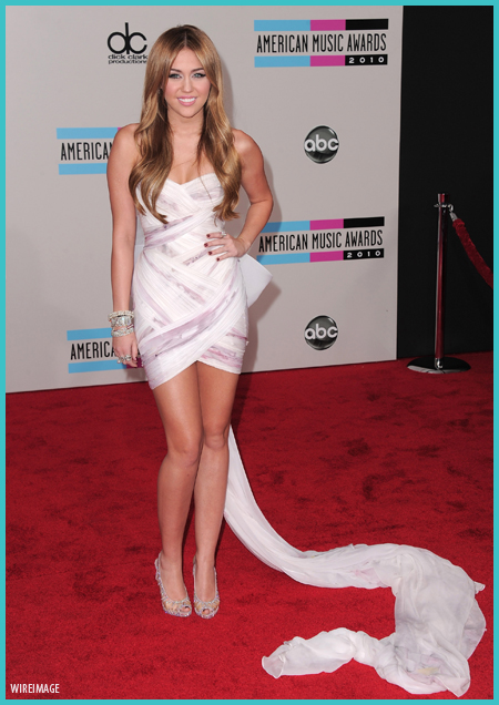 Miley Cyrus en los American Music Awards