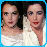 Lindsay Lohan - Elizabeth Taylor