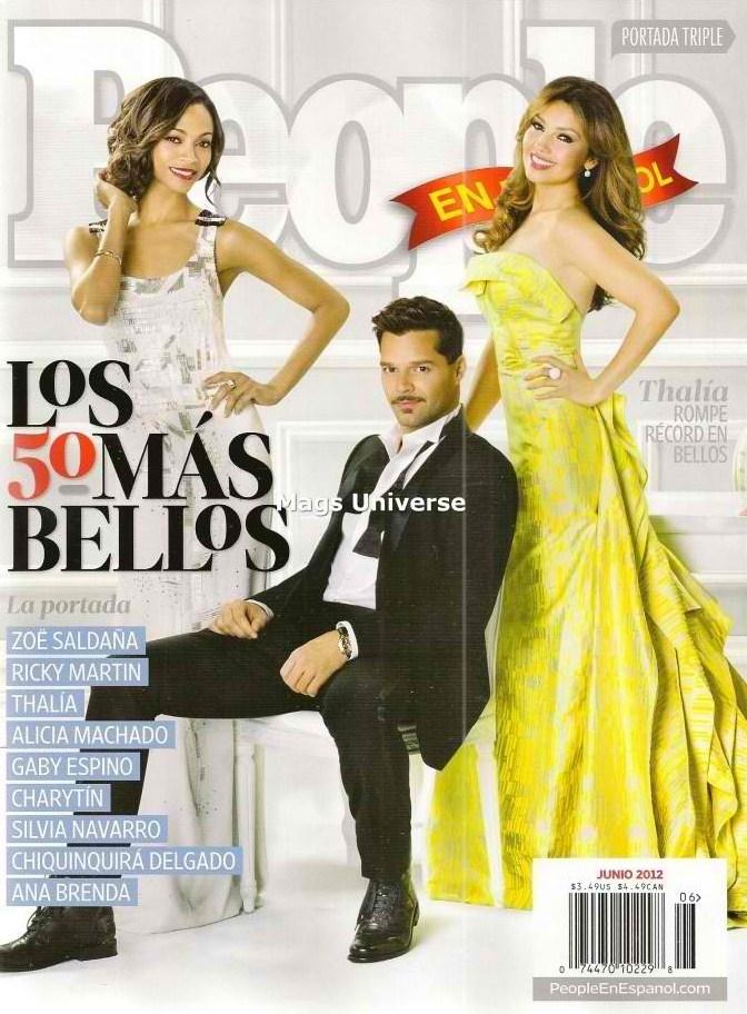 People En Espanol: Thalia y Ricky Martin