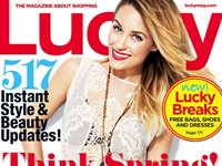 Lucky Magazine: Lauren Conrad